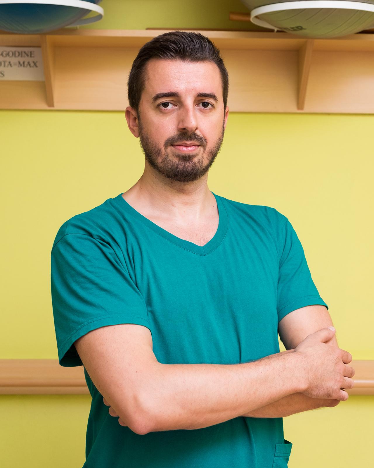 Radivoje Amanović - Viši fizioterapeut