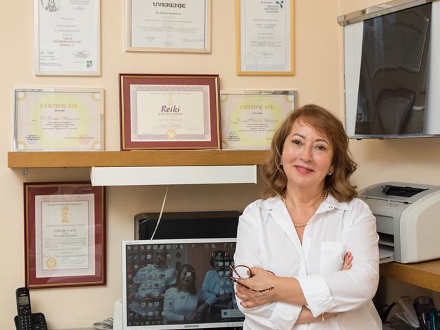 dr Dušica Stefanović, specijalista fizikalne medicine i rehabilitacije
