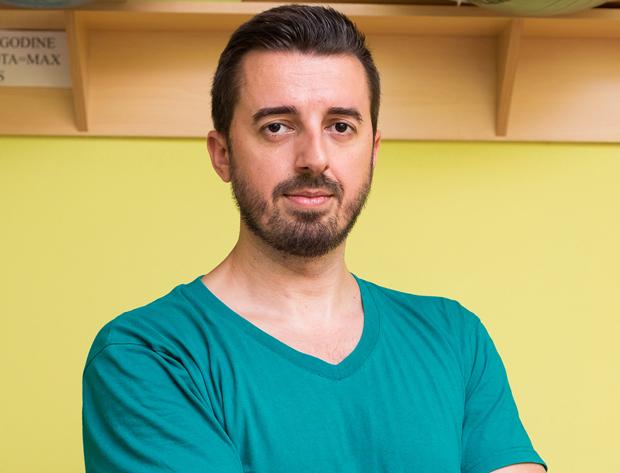 Radivoj Amanović - viši fizioterapeut